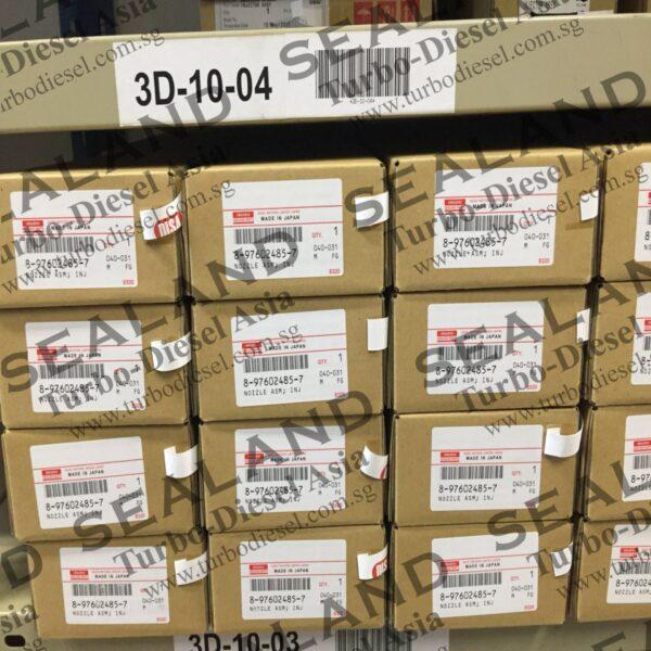 8-97602485-7 ISUZU COMMON RAIL INJECTORS for sale