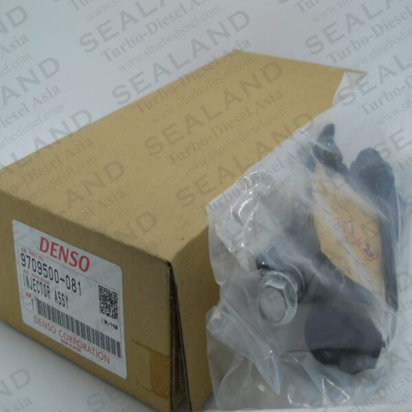 9709500-081 DENSO COMMON RAIL INJECTORS for sale