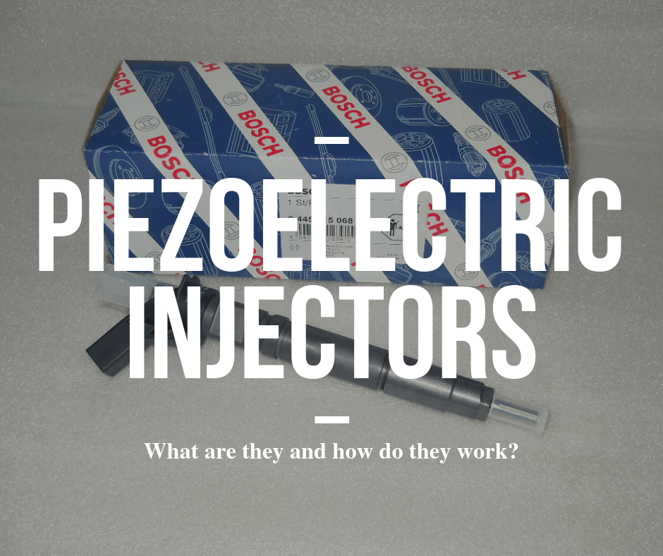 What are piezoelectric injectors and how do they work?