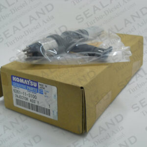 6261-11-3100 KOMATSU COMMON RAIL INJECTORS for sale