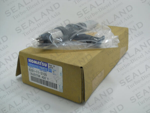 6261-11-3100 KOMATSU COMMON RAIL INJECTORS for sale