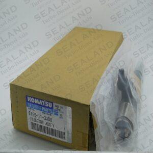 6156-11-3300 KOMATSU COMMON RAIL INJECTORS for sale