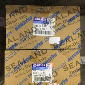 6245-11-3100 KOMATSU COMMON RAIL INJECTORS for sale