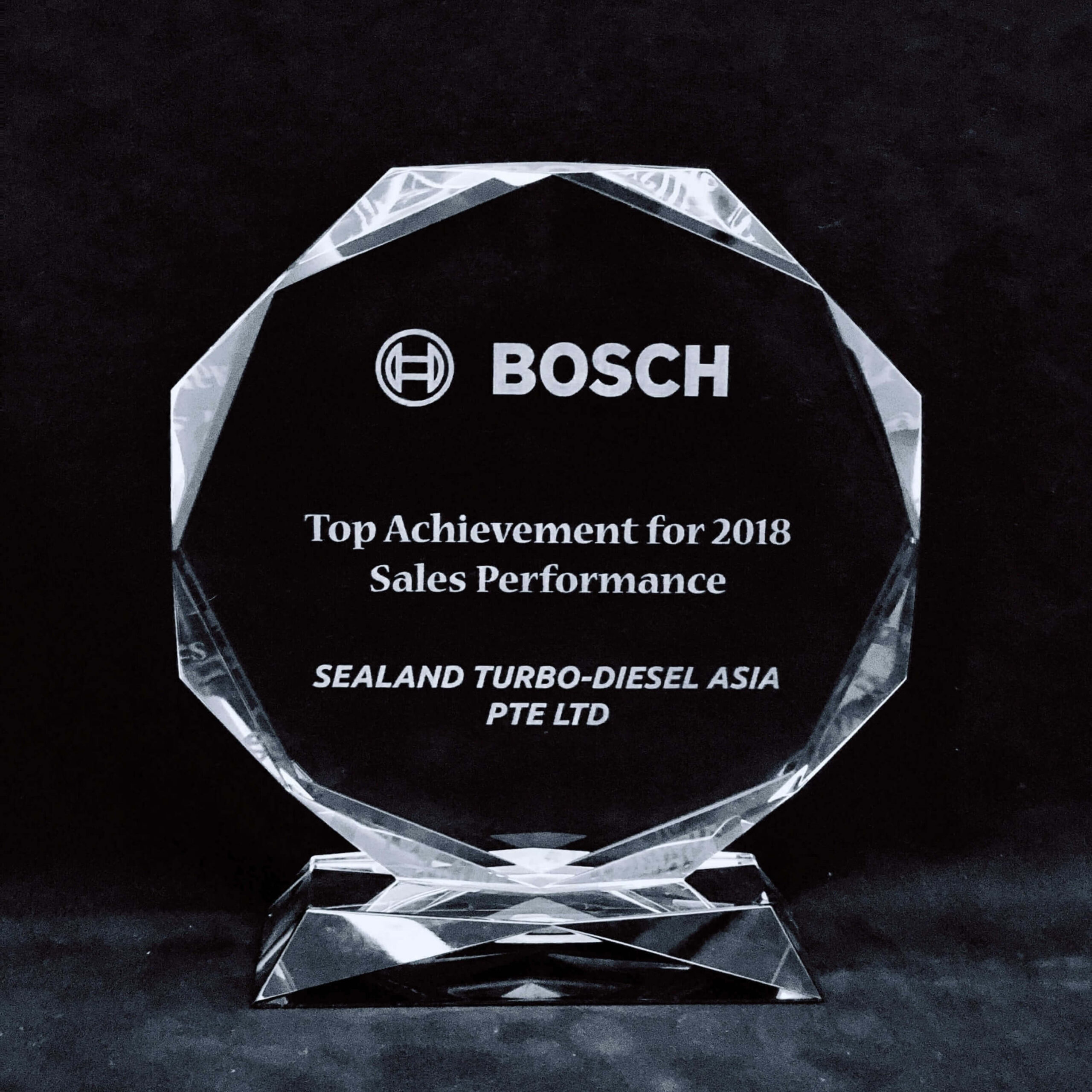 Bosch Top Sales Achievement 2018